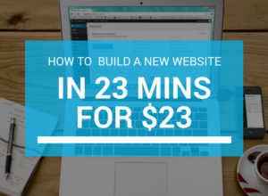 how to build new website