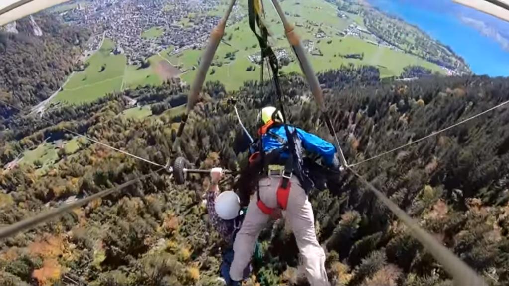 hang glide fail