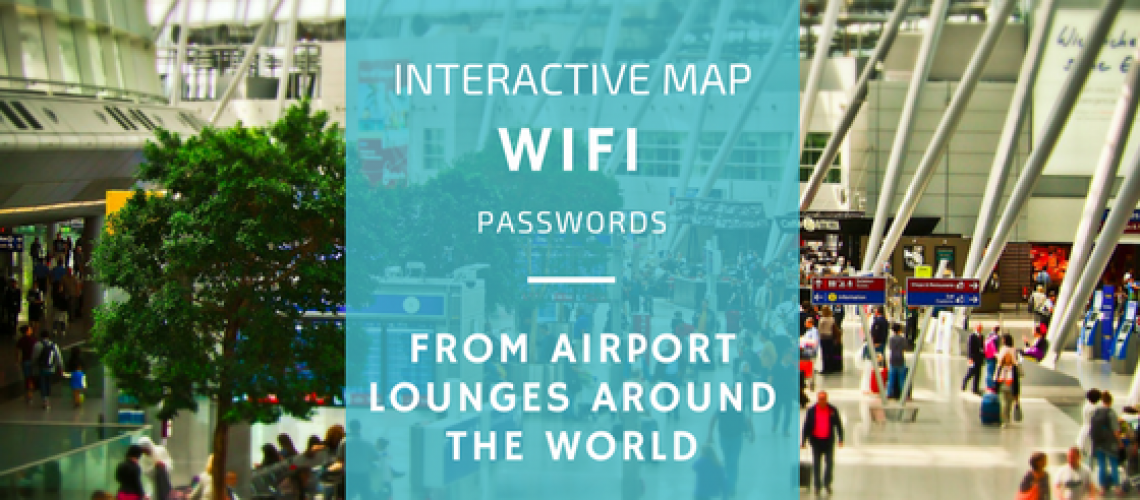 wifi passwords airport lounge