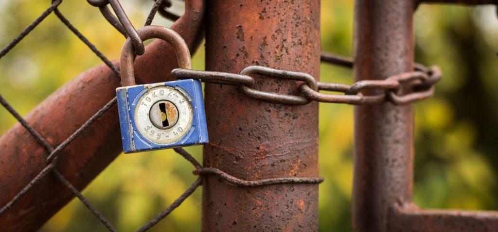 fence lock
